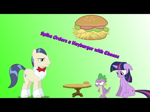 Spike Orders a Hayburger with Cheese!