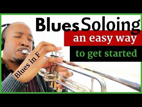 F Blues Soloing: Using a Blues Melody | Jazz Trumpet Lesson