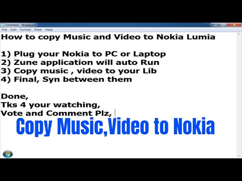 How to copy music and video to Nokia Lumia [HD]