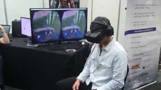 Oculus VR Demo - Ege 2015 Cape Town