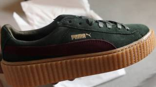 Rihanna Fenty Creepers by Puma First Look