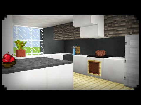 ✔ Minecraft: How to make a Kitchen