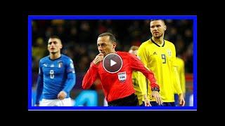 Cüneyt çakır'ın yönettiği maçta isveç, italya'yı 1-0 yendi