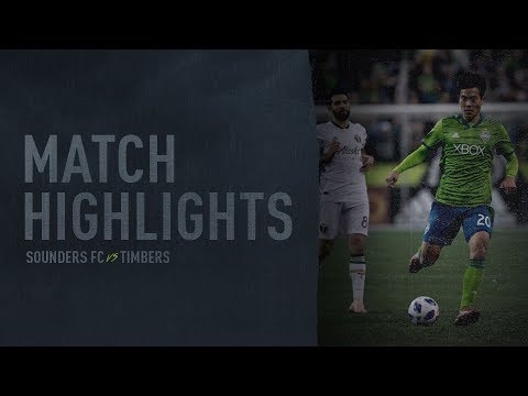 HIGHLIGHTS: Seattle Sounders FC vs. Portland Timbers | Leg 2 West. Conf. Semifinals | Nov. 8, 2018