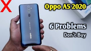 Oppo A5 2020 Launched with 6 Problems ! Don't Buy ! Reasons to Not Buy Oppo A5 2020