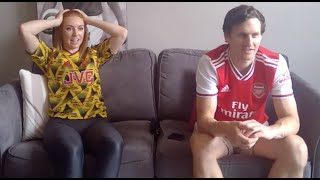 Arsenal Fans React To A Dramatic Last Minute Winner Against Sheffield United