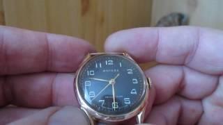 Обзор золотых часов Москва