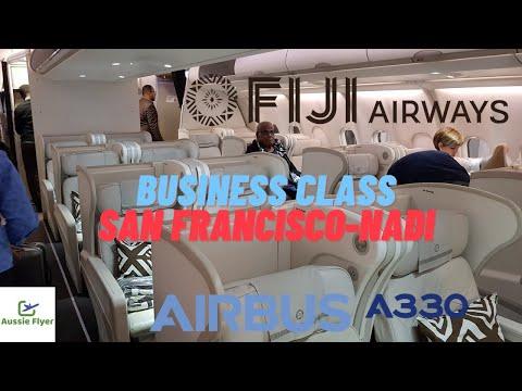 Fiji Airways Business Class ✈ San Francisco To Nadi A330-200 FJ871