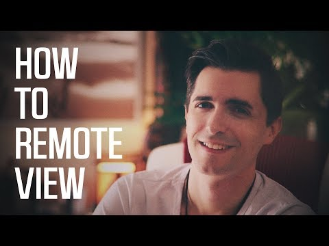 Learn How To Remote View In Less Than 20 Minutes! | Practice Exercise At The End