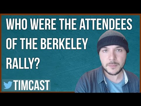WHO ATTENDED THE ANTIFA V. FREE SPEECH BERKELEY EVENT?