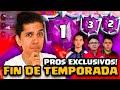 FIN DE TEMPORADA! PROS EXCLUSIVOS TOP 10 MUNDIAL! ANABAN EGOR  CLASH ROYALE!
