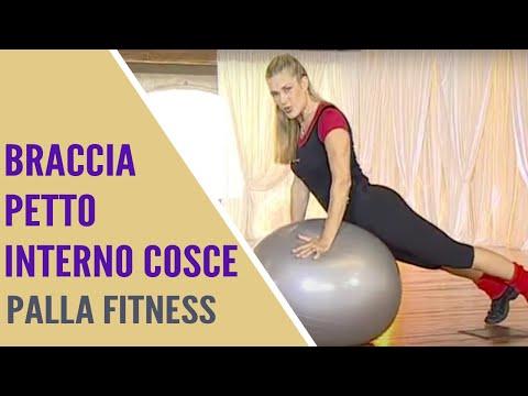 Jill cooper palla fitness 12 min esercizi interno cosce for Interno coscia jill