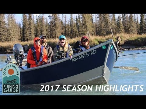 Fishing The Kenai River In Alaska - Cooper Landing Fishing Guide 2017