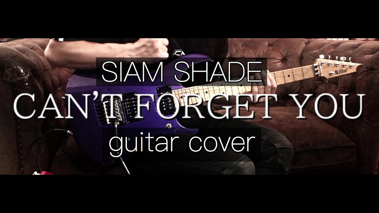 【SIAM SHADE】CAN'T FORGET YOU【Guitar Cover】