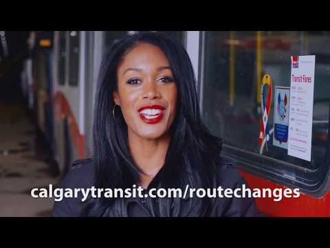 Route Changes - Report to Calgarians