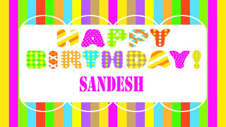 Sandesh Wishes & Mensajes - Happy Birthday