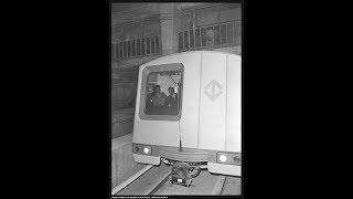 Imagens históricas do metrô de SP parte 02