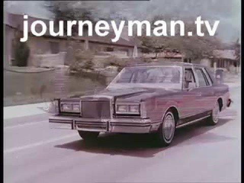 lincoln town car 1982 commercial doovi. Black Bedroom Furniture Sets. Home Design Ideas