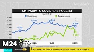 В России за сутки выздоровели 5 363 пациента с COVID-19 - Москва 24
