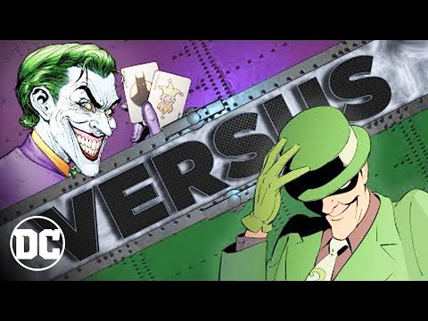 JOKER vs RIDDLER