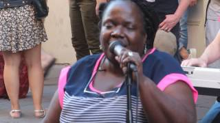Dorin Ketchens - Just a Closer Walk With Thee - French Quarter Fest 2017