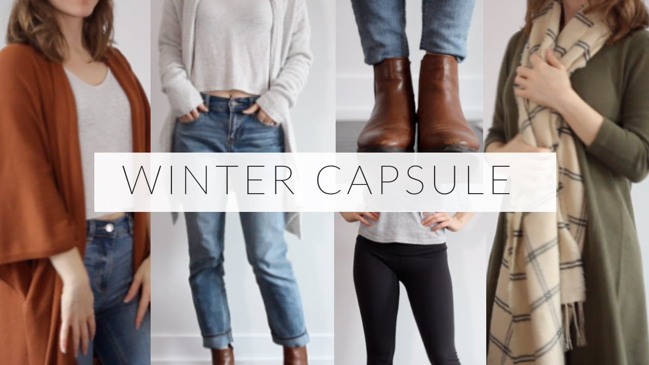 [VIDEO] - WINTER CAPSULE WARDROBE | 24 pieces for simple, versatile outfits 3