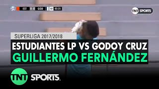 Guillermo Fernández (0-1) Estudiantes LP vs Godoy Cruz | Fecha 20 - Superliga Argentina 2017/2018