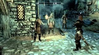 Прохождение The Elder Scrolls V Skyrim со всеми дополнениями. (Часть 4 - Дракон у дозорной башни)