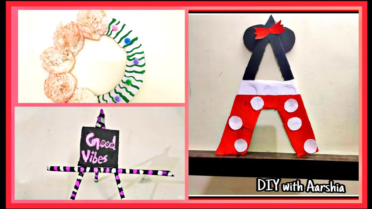 DIY room decor ! Easy 5 minute craft ideas at home 2020 ...