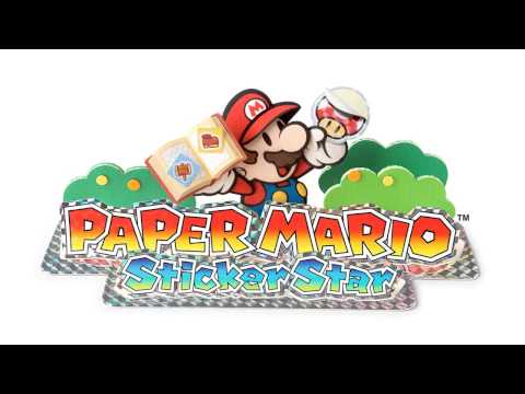 Paper Mario: Sticker Star OST - Low HP Normal Battle Extended HQ/HD