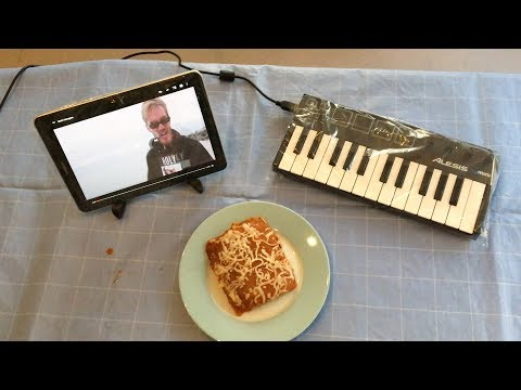 bitch lasagna but it's played on lasagna