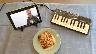 bitch lasagna but it's played on lasagna