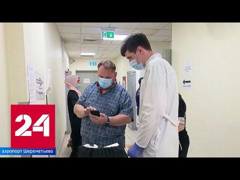 Очереди в московских аэропортах: люди не могут улететь без справок на COVID-19 - Россия 24