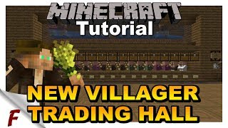 ✅ Minecraft 1 13 1 Villager Trading Hall Tutorial Brand New Design DOES NOT WORK ON BEDROCK YouTube