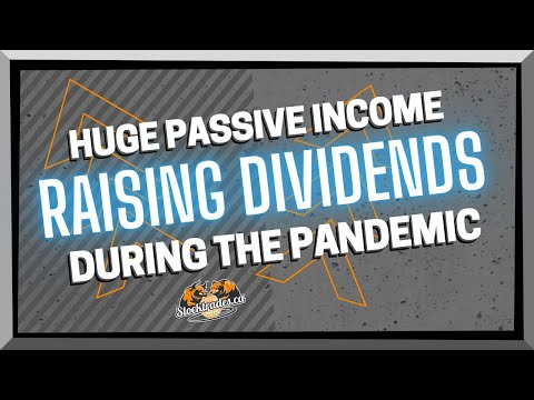 **HUGE PASSIVE INCOME** Canadian Stocks Due to Raise Dividends Soon 🍁