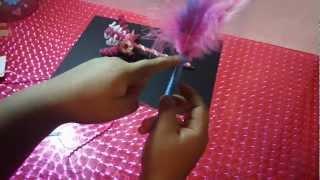 como decorar LAPICEROS/PLUMAS/BOLIGRAFOS muy facil y bonito
