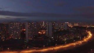 Mitino from Quadrocopter DJI Phantom 3 Pro/ Митино с квадрокоптера DJI Фантом 3 Про(, 2016-04-23T19:12:55.000Z)