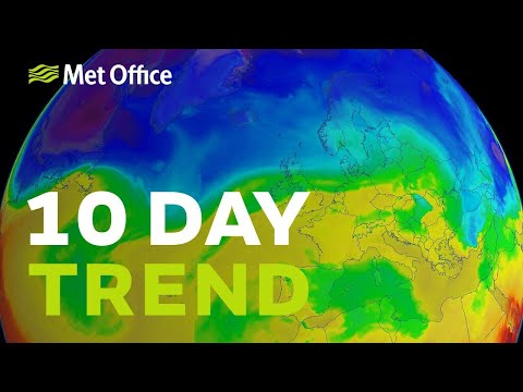 10 Day trend - Milder at the weekend but will it last?