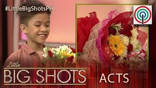 Little Big Shots Philippines: Nico | 11-year-old Flower Arranger