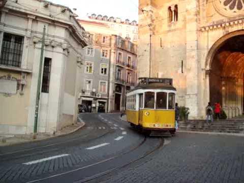 Streets of Lisbon-Lisboa by public transport