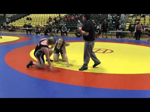 2016 Golden Bear Open: 82 kg Rebecca Ells vs. Kelsey Fleury