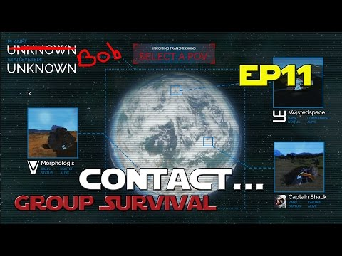 Space Engineers - Group Survival Series - Ep 11 - Contact