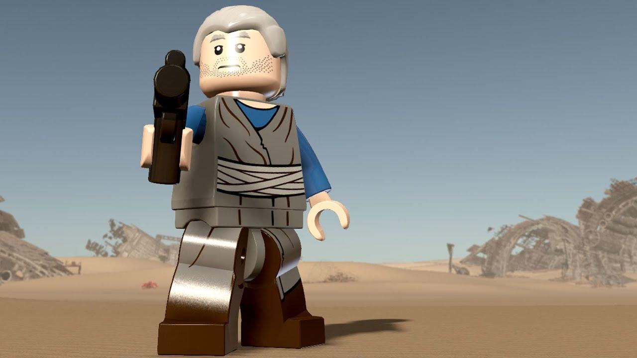 Star Wars Force Awakens 1080p: LEGO Star Wars: The Force Awakens - Kinn Zih