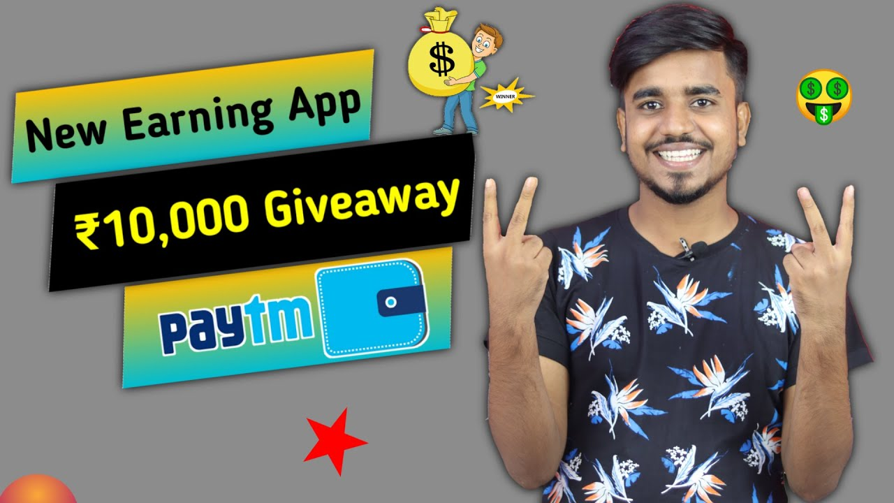 New Earning App 2020 || With ₹10,000 Giveaway || Earn Real Paytm Cash Instantly || Google Tricks