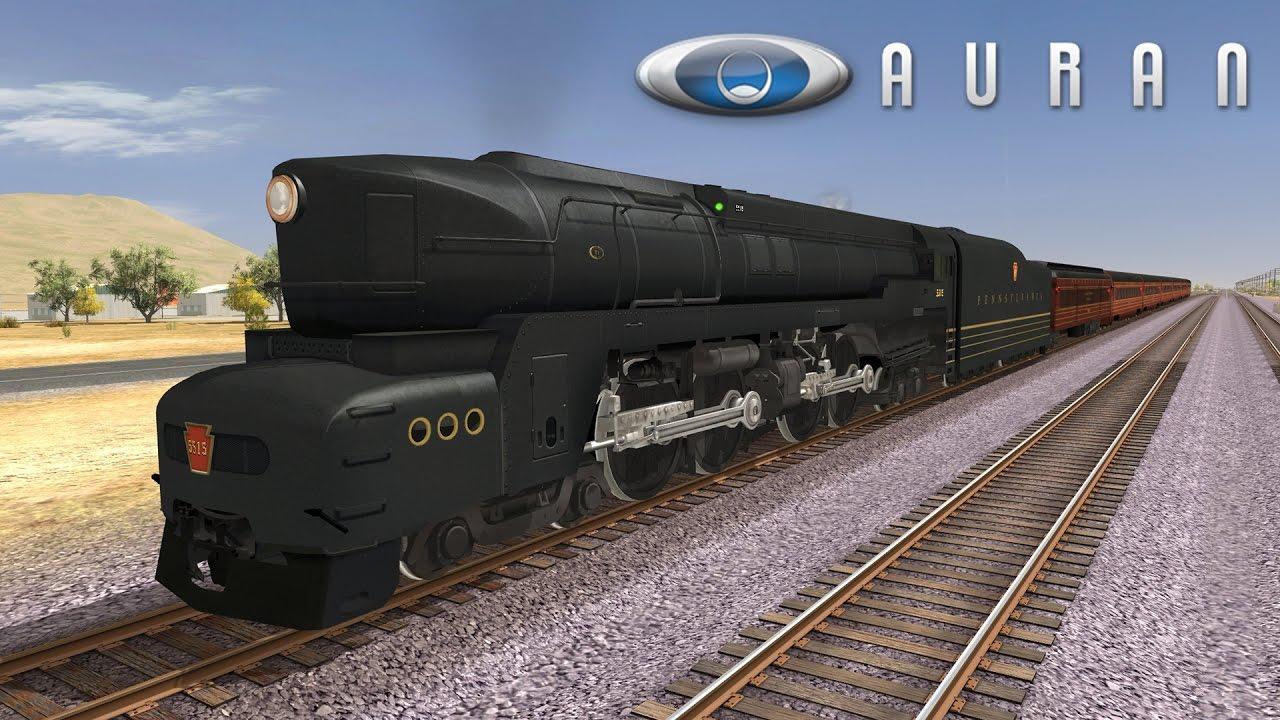 Trainz A New Era [ Auran DLC ] - PRR T1 (PayWare) by The Fidax