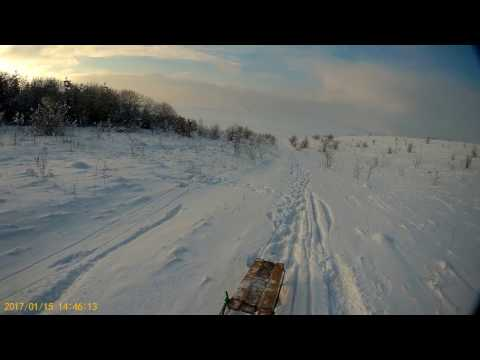 BAC MyVideo. Winter vacation Drive a sleigh from the Big Mountain. @2017.01.15@ ... \(^_^)/