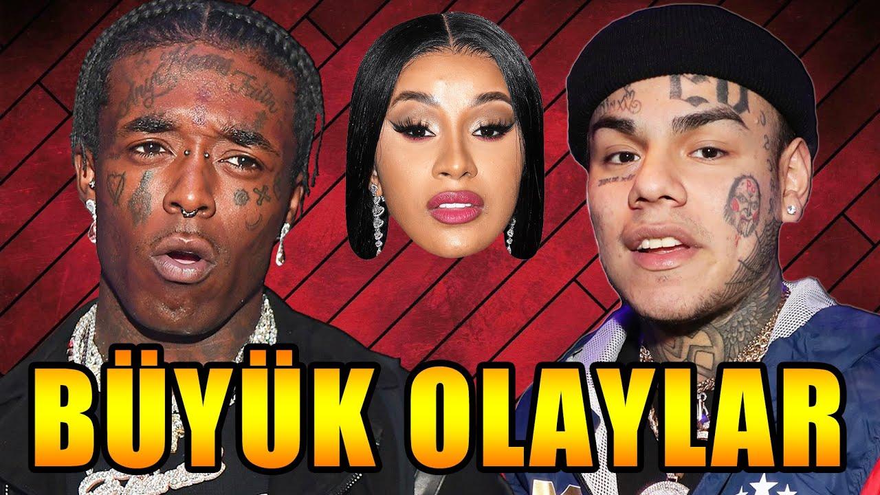 6IX9INE YAŞIYOR MU? NEDEN ORTALIKTA YOK? | Lil Uzi Vert Rap'i Bıraktı Mı ? | Global Hip Hop Gündemi