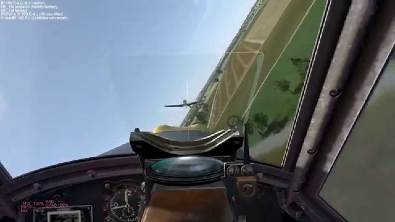 il-2 cliffs of dover how to start plane