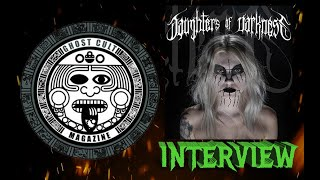 Ghost cult caught up with our old friend celebrity and music photographer jeremy saffer about his brand new coffee table book project, daughters of darkness,...