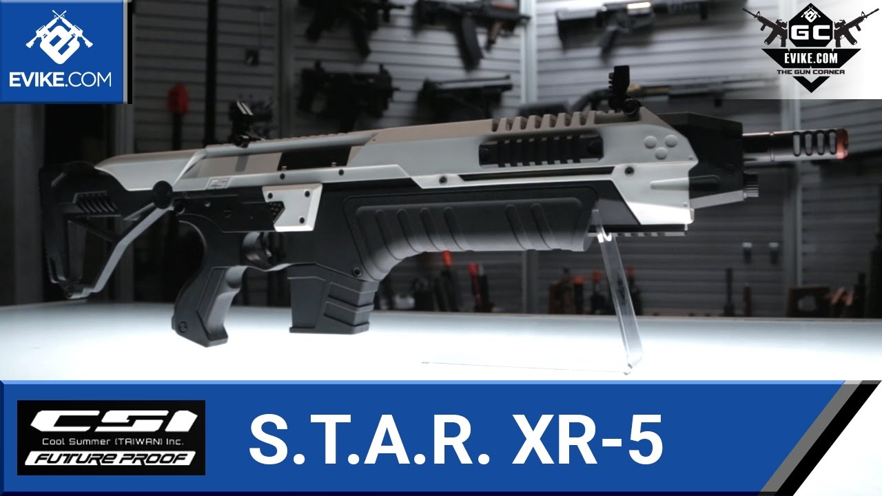 csi s t a r xr 5 fg 1503 advanced battle rifle color grey airsoft guns airsoft electric rifles src evike com airsoft superstore [ 1280 x 720 Pixel ]